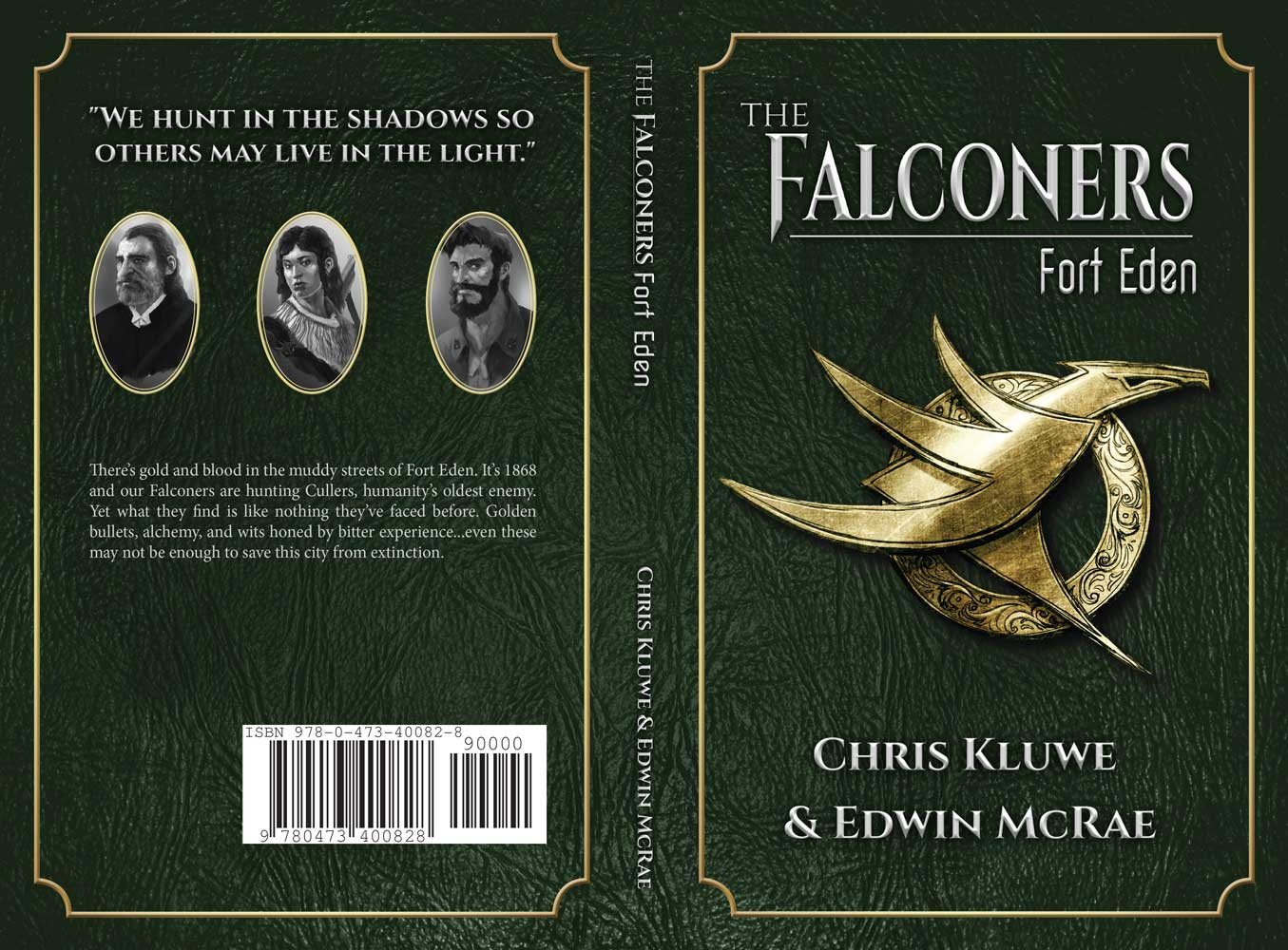 Falconers Fort Eden Cover