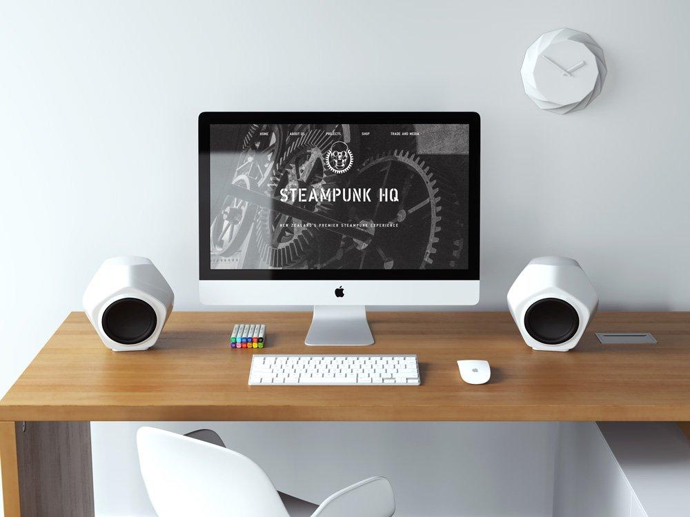 Steampunk Oamaru Desktop