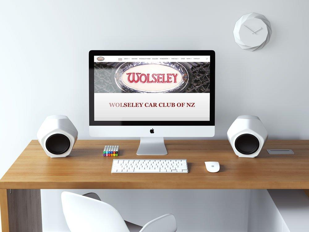 Wolseley Car Club NZ Desktop