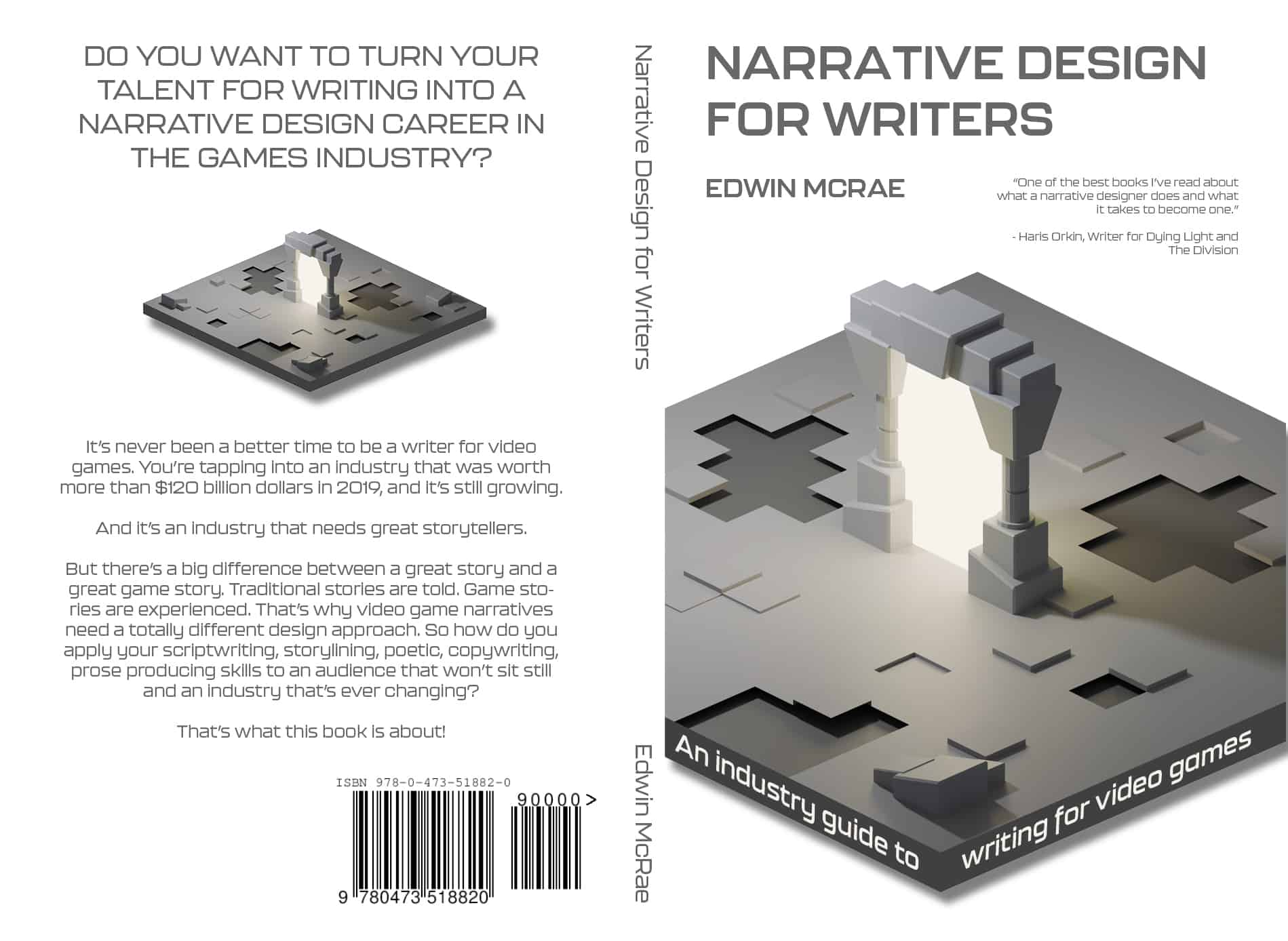 Narrative Design for Writers Cover